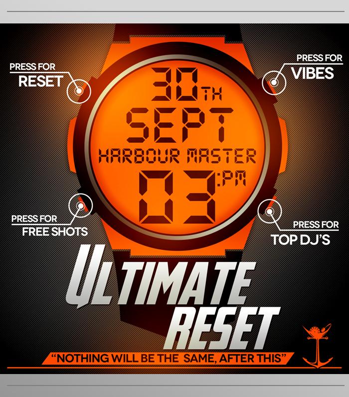 Ultimate Reset – Event Promo.